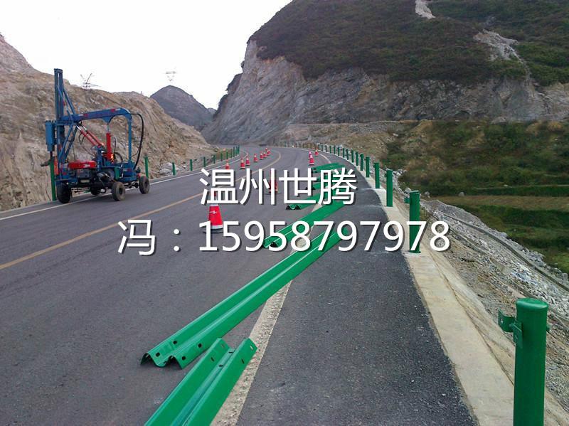 厂家批发高速公路防撞波形护栏板 热镀锌双波型护栏包送货安装