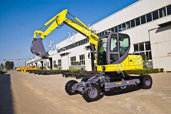 全液压轮式挖掘机 轮式挖掘机