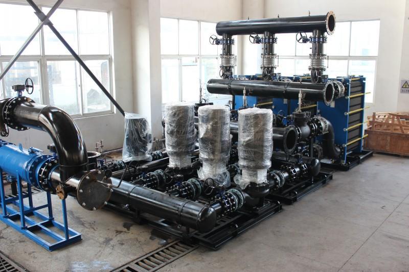 福建换热器板式蒸发冷却装置板式热换热器机组图片