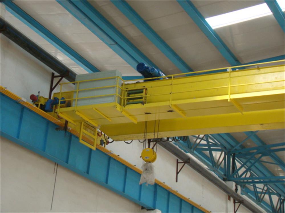 山东德鲁克厂家直销clq型14t 欧式电动葫芦双梁桥式起重机图片