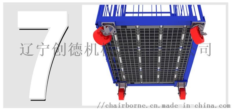 l型日式底板塑料台车仓储物流企业流转车铁笼车KEIBA、MTC剪钳图片
