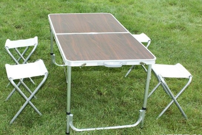 折叠桌椅 昆明铝合金折叠桌 云南休闲折叠桌 昆明户外图片