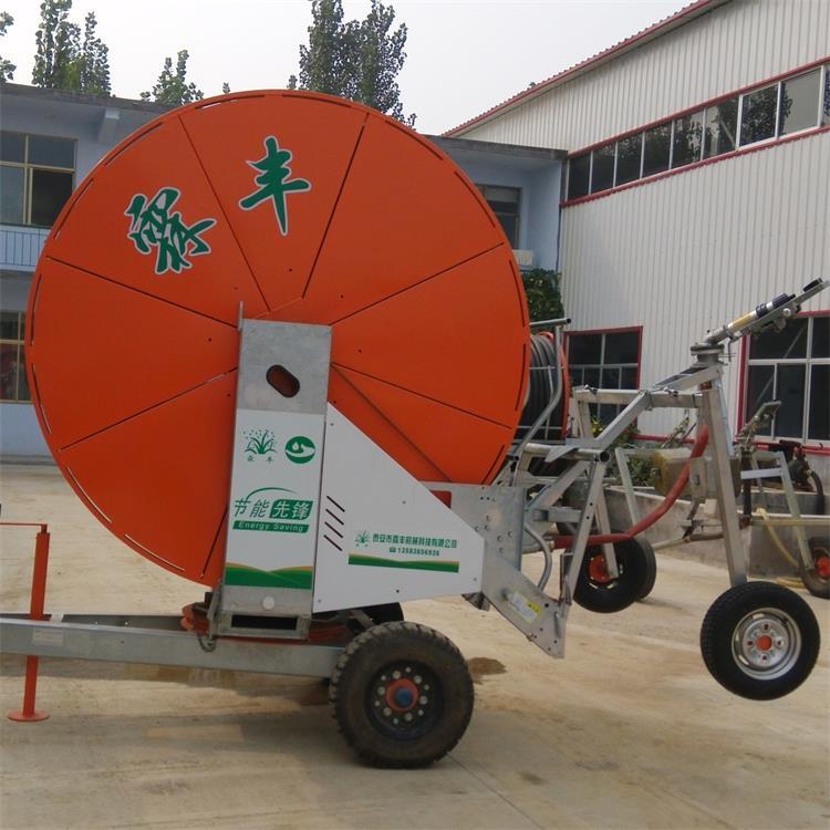 自走式移动式 卷盘式喷灌机jp75-300节水抗旱喷灌 新发研究图片