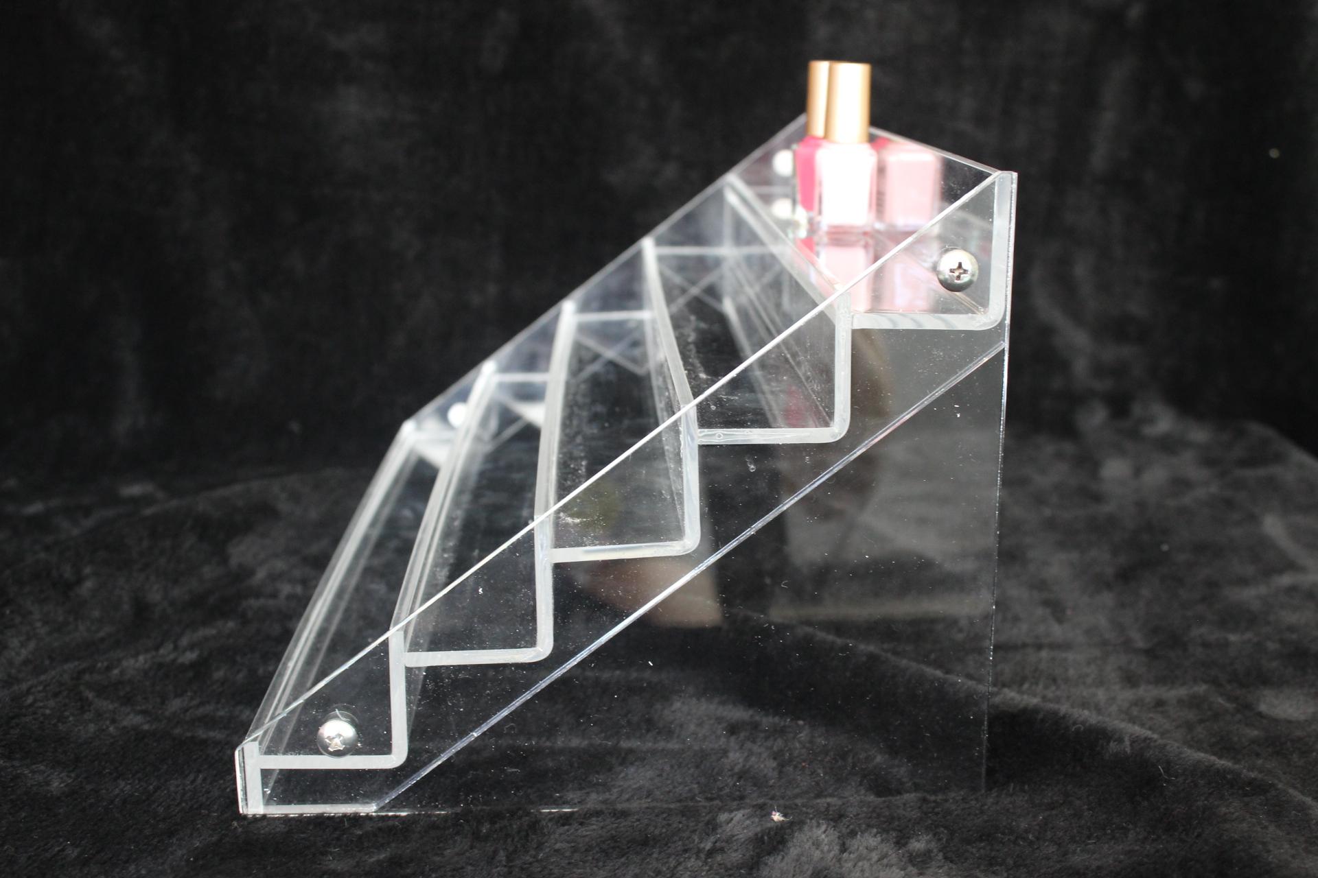 亚克力_亚克力桌面口红指甲护肤品香水收纳盒 透明抽屉式化妆