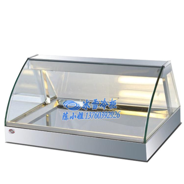 消费电子 冰箱冷柜 冷藏展示柜 > 台式弧形蛋挞展示柜 冰雪商用冰柜图片