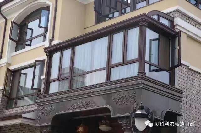贝科利尔150系列别墅铝包木价格阳光房【高端福州别墅二手装修精图片