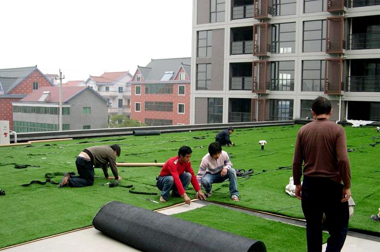 厂家直销加密仿真草皮人造草坪足球场 体育场