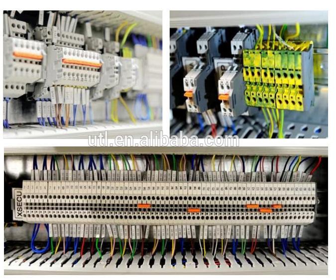 尤提乐端子 JUT1-10接线端子排 10平方轨道式接线端子【批发价格,厂家,图片,采购】-中国制造网,上海尤提乐电气有限公司