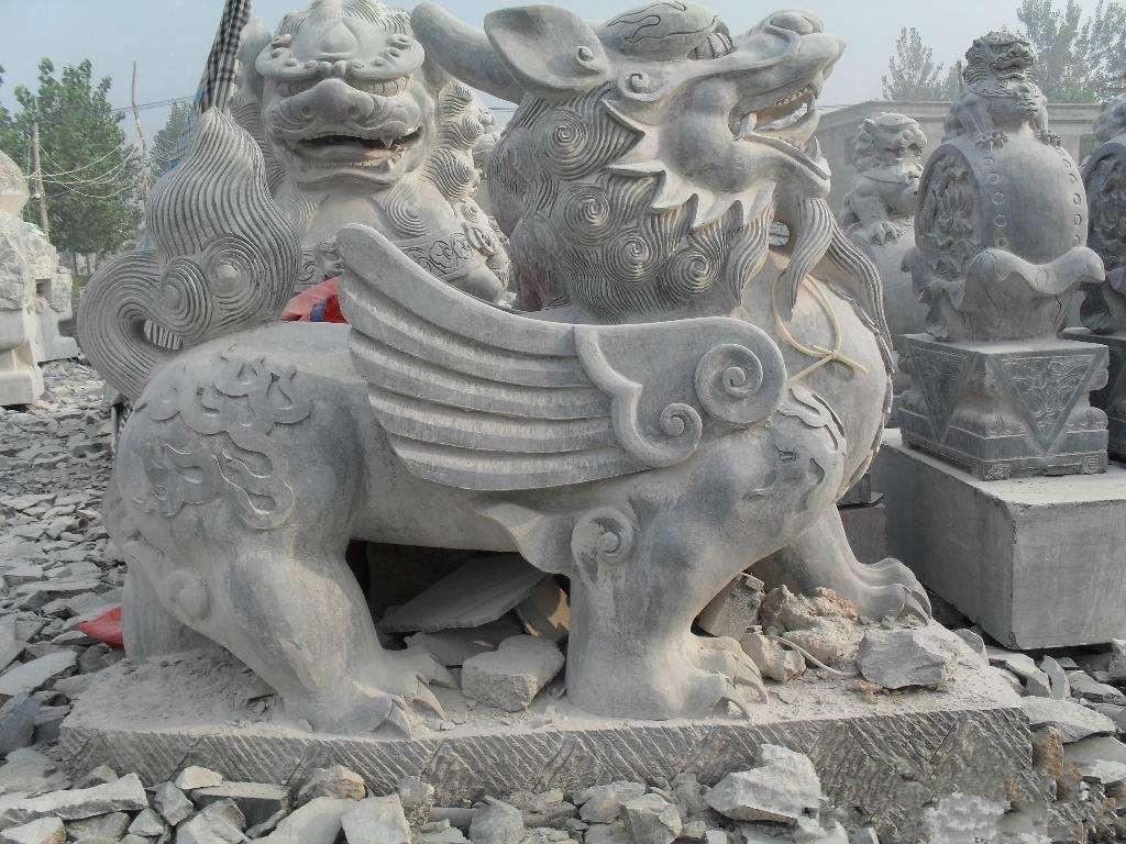 定制石雕动物 风景区各种 造型 石雕马 花岗岩雕刻