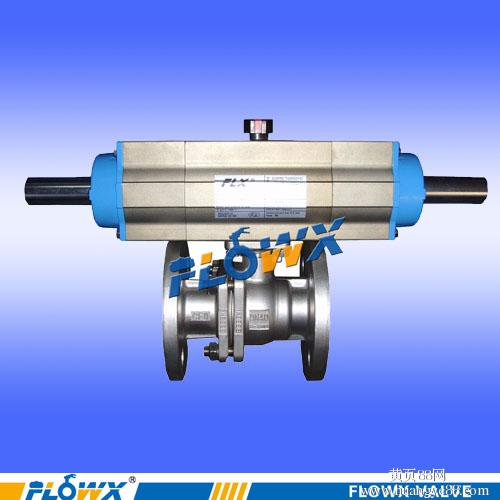 三段式装车球阀 ,进口三段式气动球阀图片