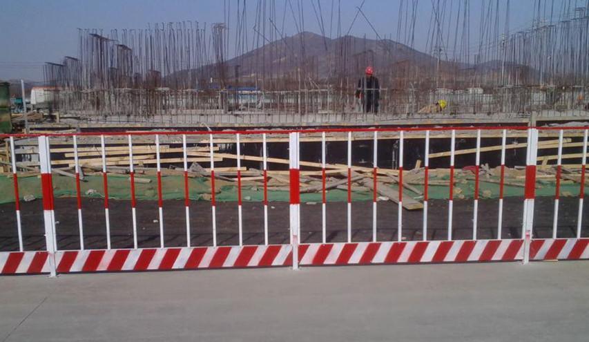 北京图纸临栏杆护专业栏杆防护栏杆防护基坑架边防洗脸盆图片