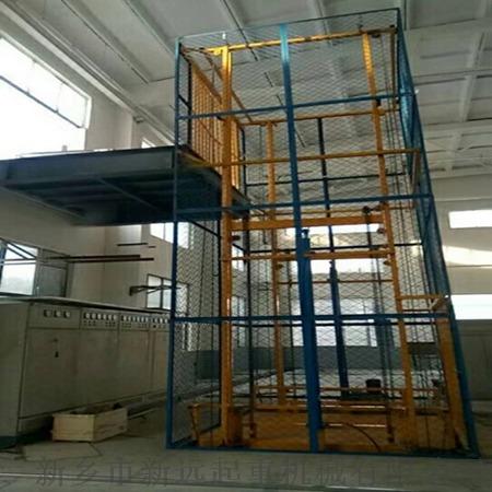 郑州2吨导轨式液压升降货梯图片