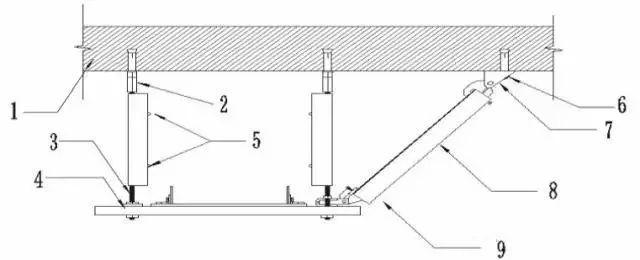 1吨吊架结构的简图
