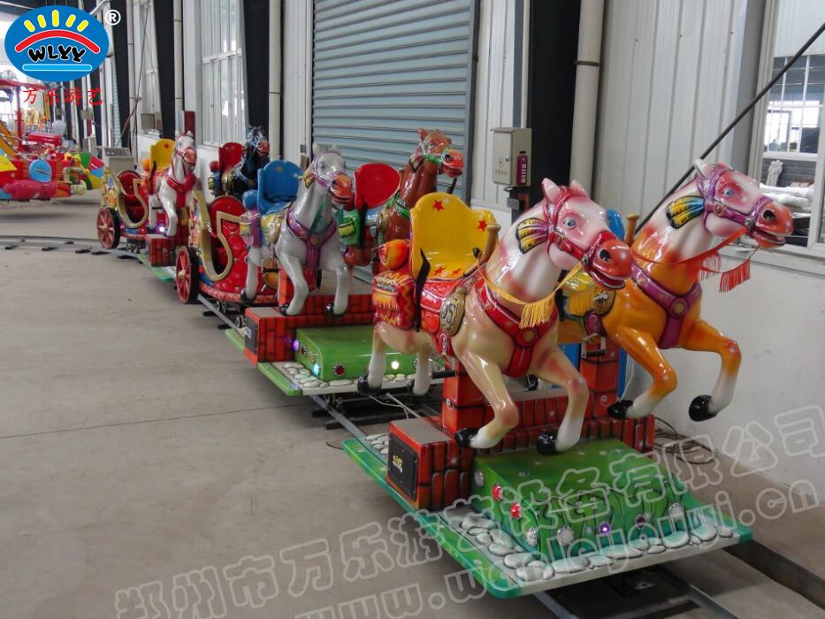 """郑州市万乐游艺设备有限公司是【中国游艺机游乐园协会】会员单位,是一家集设计、研发、生产、销售与安装为一体的游乐设备的专业厂家,位于河南郑州市上街区,常年对外销售豪华转马、豪华转盘、陀螺转盘、自控飞机、欢乐飞船、弹跳小汽车、袋鼠跳、轨道小火车、万乐跑马、逍遥水母、小型摩天轮、迷你海盗船、旋转飞车、旋转恐龙等几十种产品,公司秉承以用户需求为核心,坚持""""质量到位、服务一流""""的经营理念,在玩具-游艺设施行业获得了客户的一致认可和高度评价,公司以为客户创造价值为己任,期待为您服务!"""