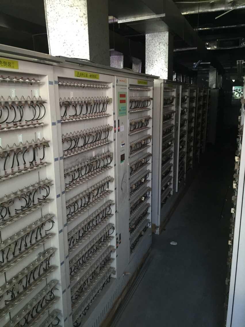 蓝奇512点锂电池分容柜