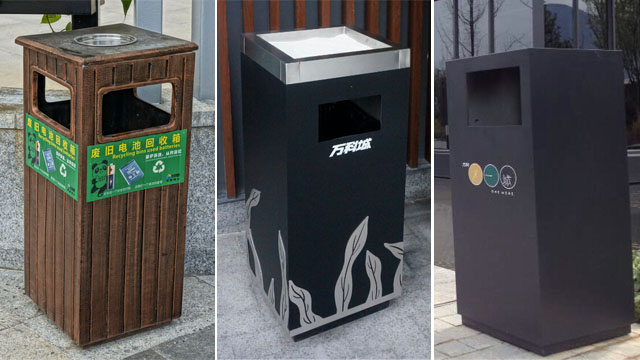 【河南环保垃圾箱生产制作图片图片