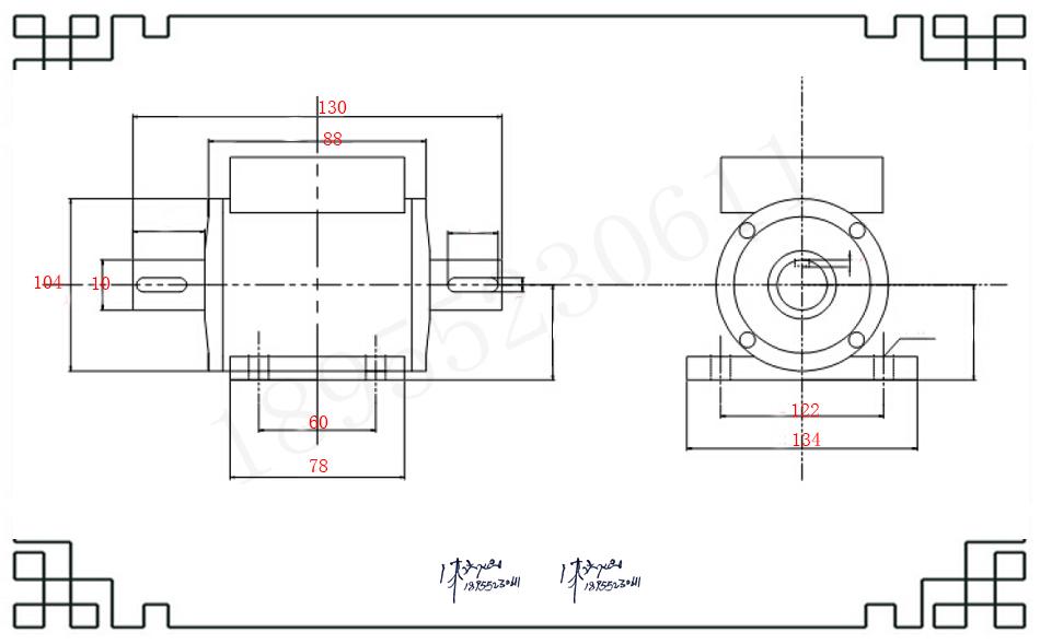 电机扭矩传感器JN-DN-V动态扭矩传感器厂家直
