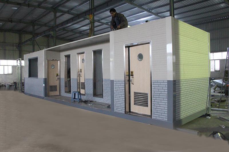 建筑和装饰材料 装修设施及施工 活动房 > 厦门移动环保厕所 公共移动图片