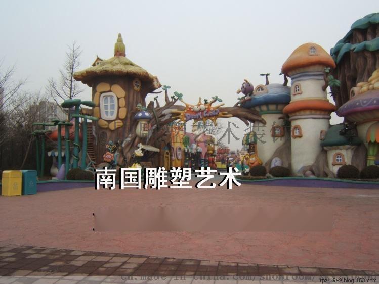 游乐园大门公园大门动物园大门欢乐谷大门施工
