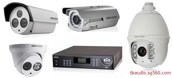安防摄像机 03 海康网络摄像机