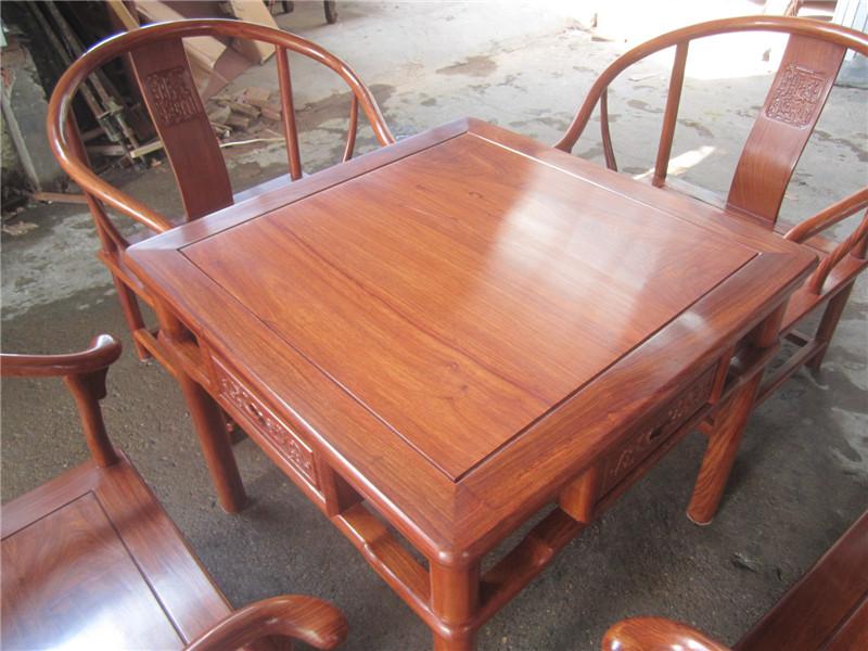 草龙茶桌定做红木家具价格,东阳木雕款式图,实木家具图片