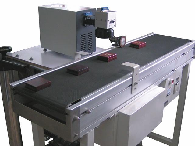 全自动便携式可升降光纤高精度镭射激光打标机打码