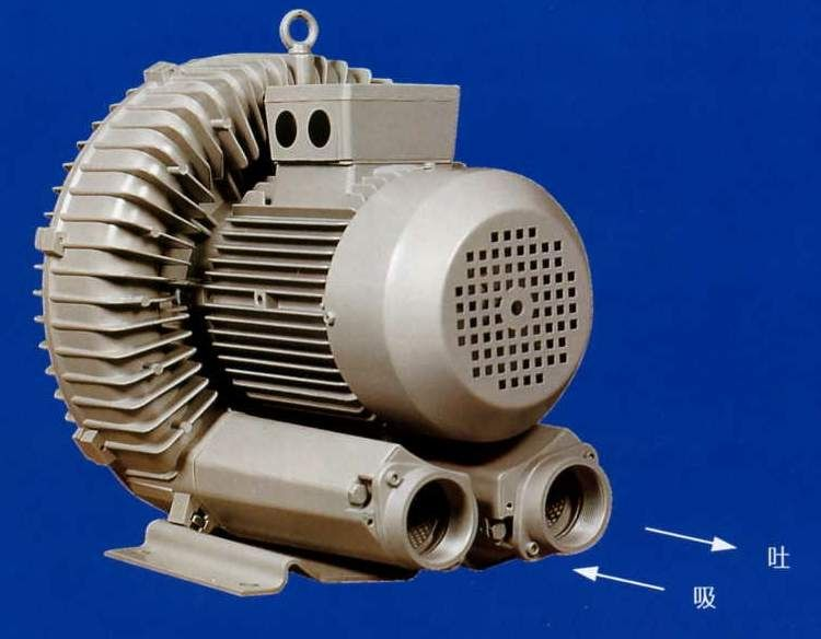 岳阳纸张输送,粉末灌装机用全风rb-055防爆高压鼓风机