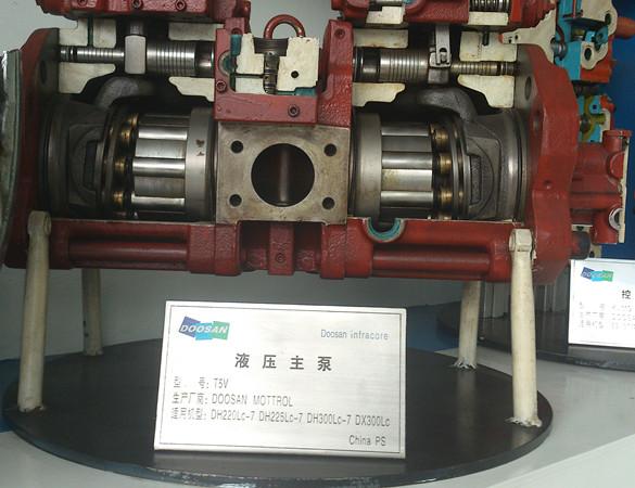 斗山挖掘机液压泵,大宇钩机液压泵,斗山原厂正品挖掘机液压泵图片