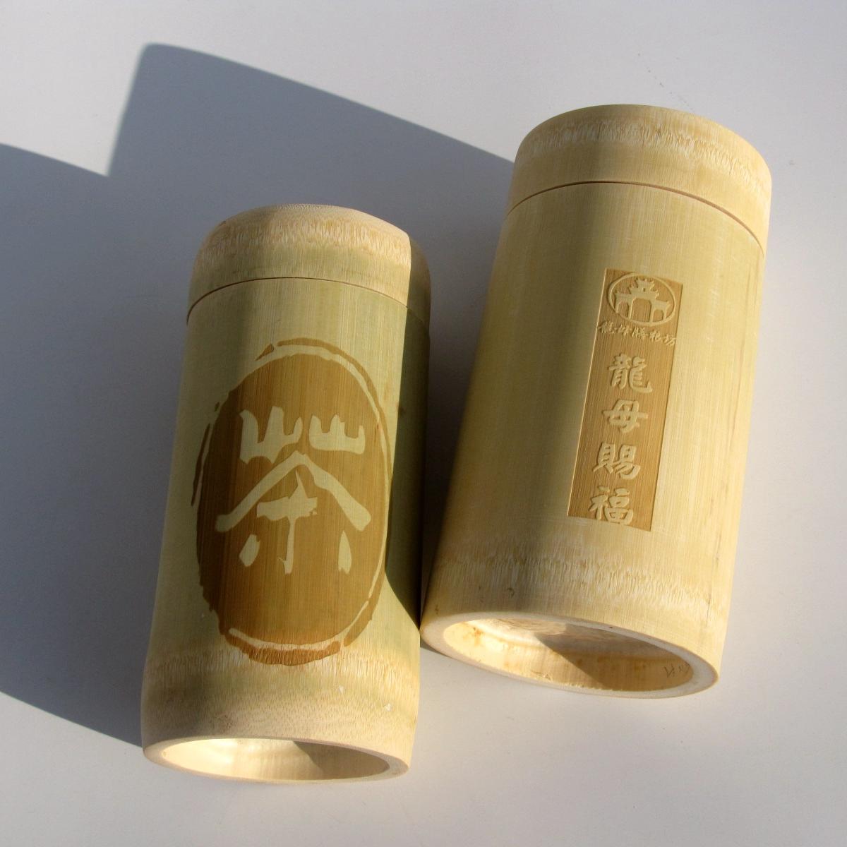 厂家直销竹质茶叶筒 竹筒竹节包装茶叶罐 无漆食品包装密封罐图片