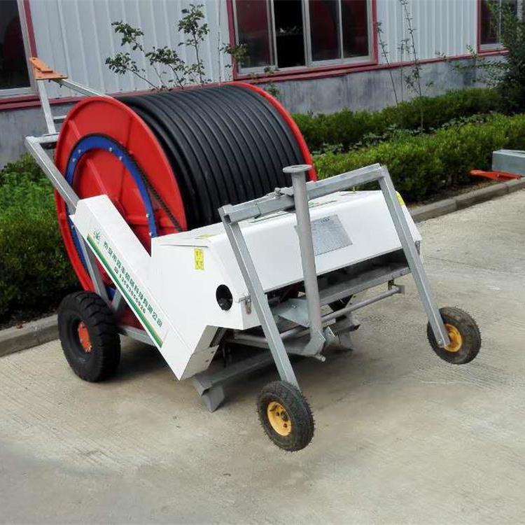 小型卷盘式喷灌机jp50-180家用喷灌设备 农业排灌机械图片