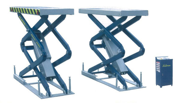 小剪式液压平板举升机,适用于各种轿车,汽车的提升,检测,维修及保养图片