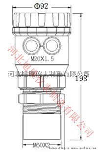 XK-R两线制超声波液位计-5