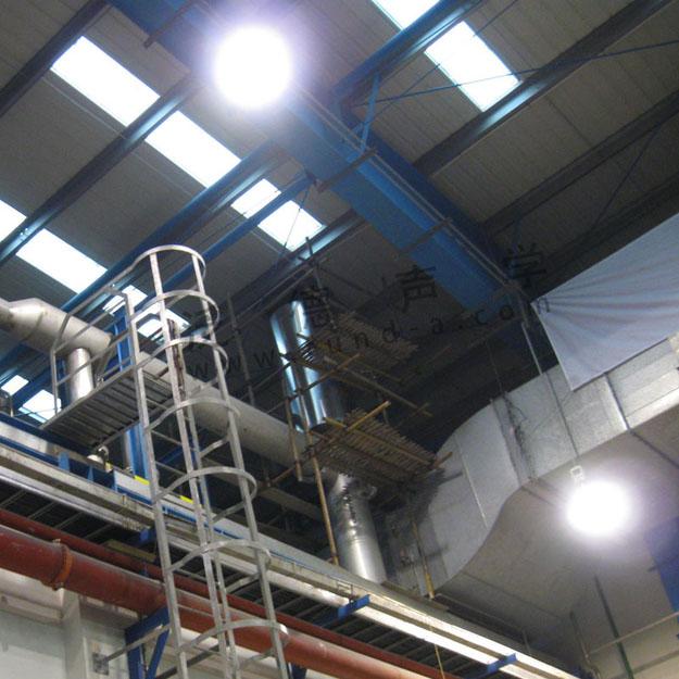 风机噪声治理 巴斯夫应用化工有限大型风机噪音治理工程 消声器