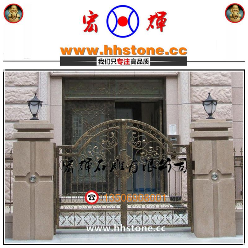 围墙门头图片_围墙大门门柱设计图图片展示_围墙大门门柱设计图相关图片下载
