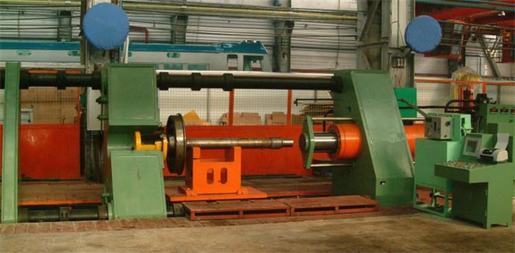 100吨卧式高精密电机定子转子压装用卧式单柱液压机端