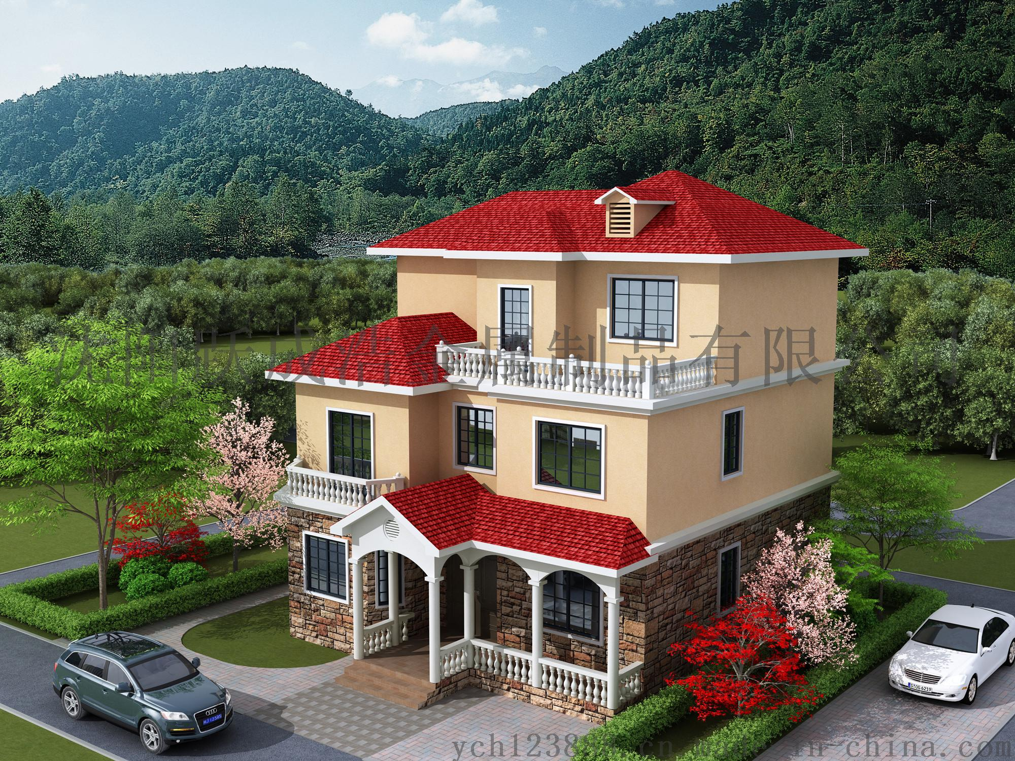 东北钢结构房屋,轻钢别墅,承接棚户区改造项目图片