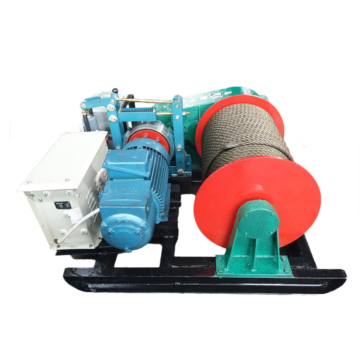 慢速标准6t卷扬机按国标采用15kw起重电机【6t卷扬机参数】