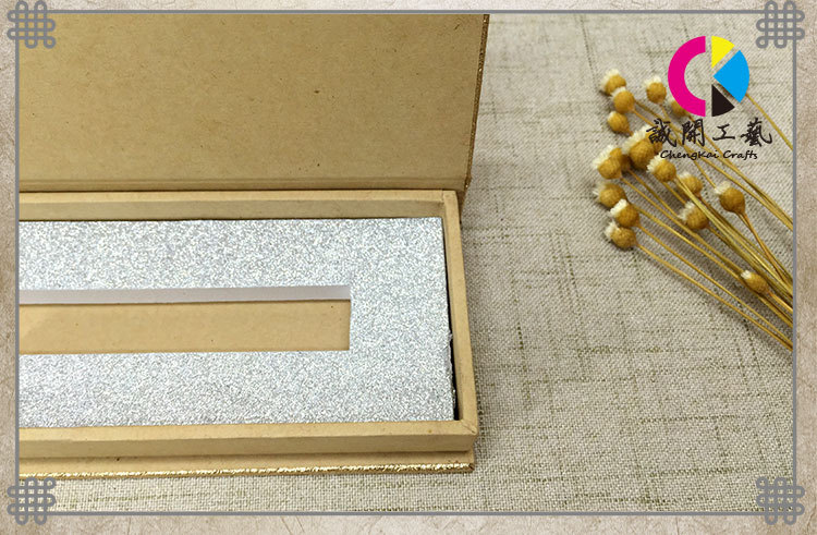 温度高档厂家定做化妆品睫毛膏礼盒式包装盒书本磁性传感器图片
