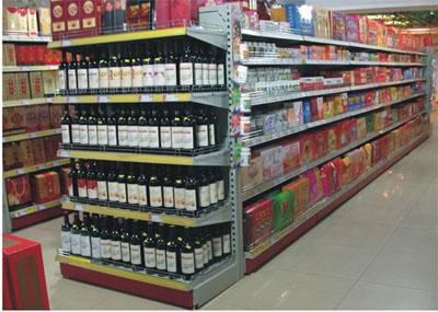超市货架怎么陈列最吸引顾客图片