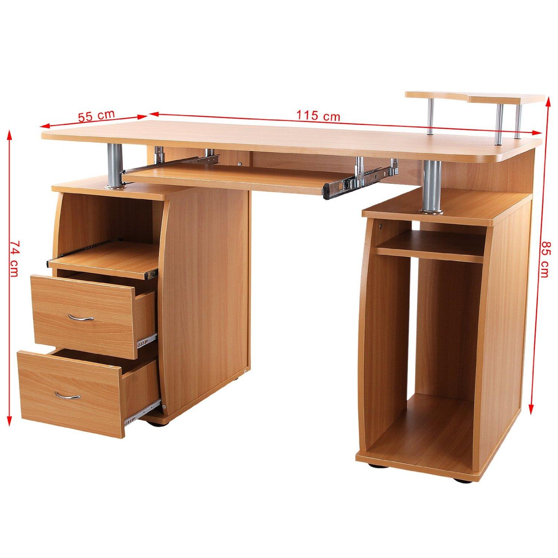 热销mdf 板式家具多功能办公桌图片