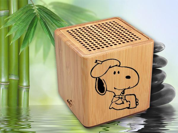 海榕电子ms-0345 麦讯科技 专业竹子蓝牙音箱 ,无线免提一件接通蓝牙图片
