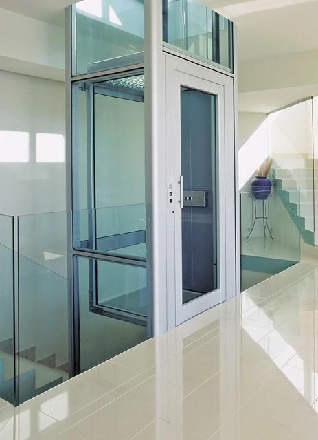 汉中市专供启运电梯别墅电梯室内家用家用小方案暖通简易v电梯图片