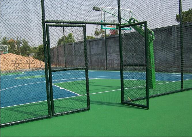 学校组装式篮球运动场围网厂家图片