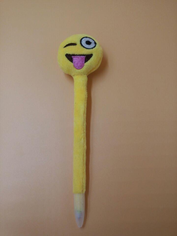 表情创意QQ时尚圆珠笔可爱表情圆珠笔高档礼微5元v表情信转盘包表情图片