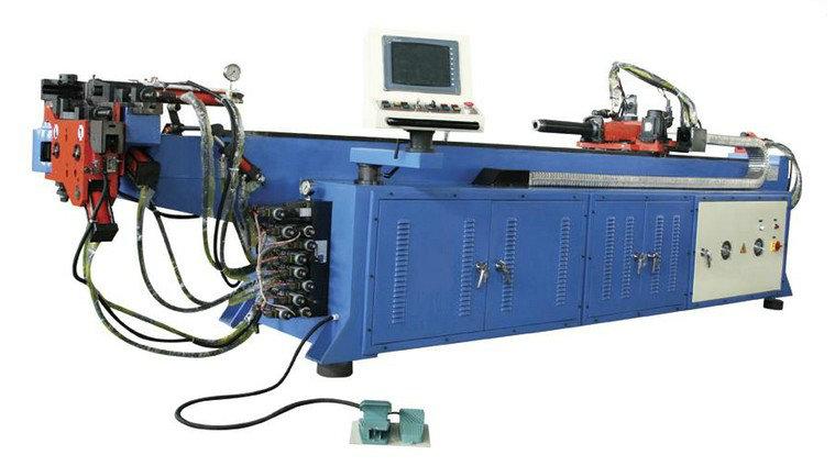 90型半自动弯管机 单头数控液压弯管机 环形弯管机