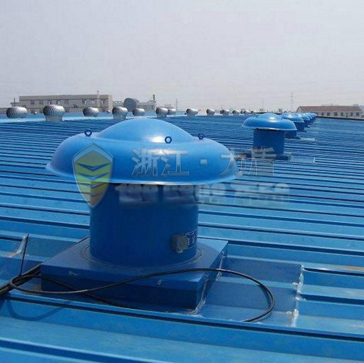 dwt系列屋顶通风机已在秦皇岛热电厂,中央1,首都国际机场候机楼和