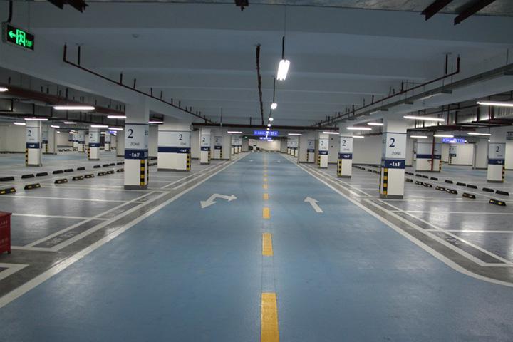 地下车库地坪_停车场地坪施工价格_环氧树脂地坪漆公司