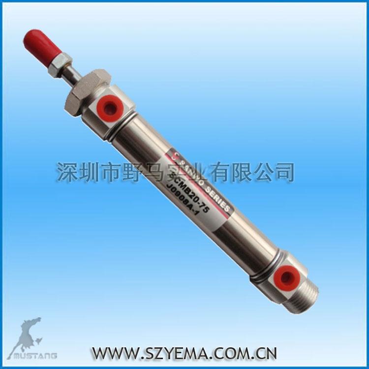 笔形气缸 scmb20-50 品质优 交期快图片