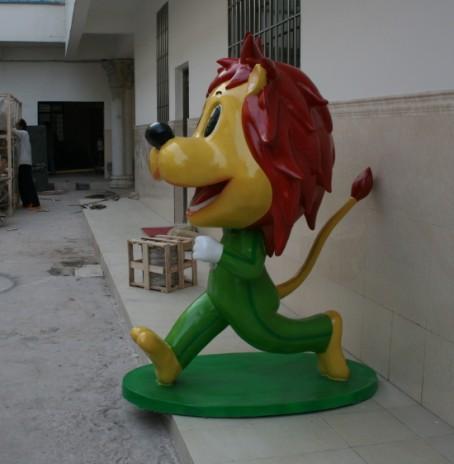 厂家定做迪斯尼乐园卡通雕塑, 游乐场动漫人像雕塑, 卡通动物雕塑