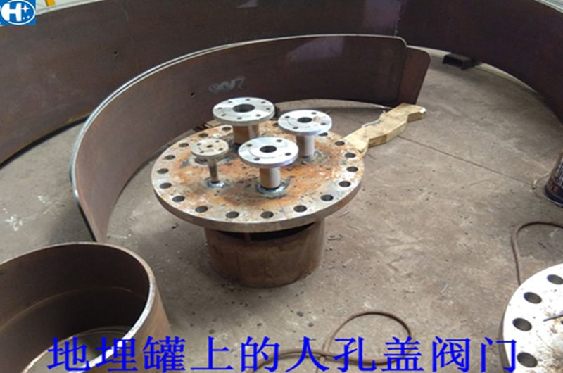 液化气地埋罐,50立方v地埋石油气地埋罐图纸别墅设计图楼3图片